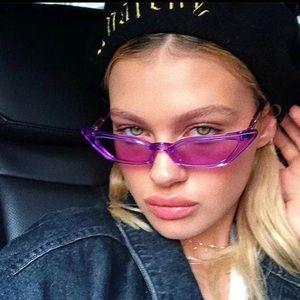 Violet shades sunglasses